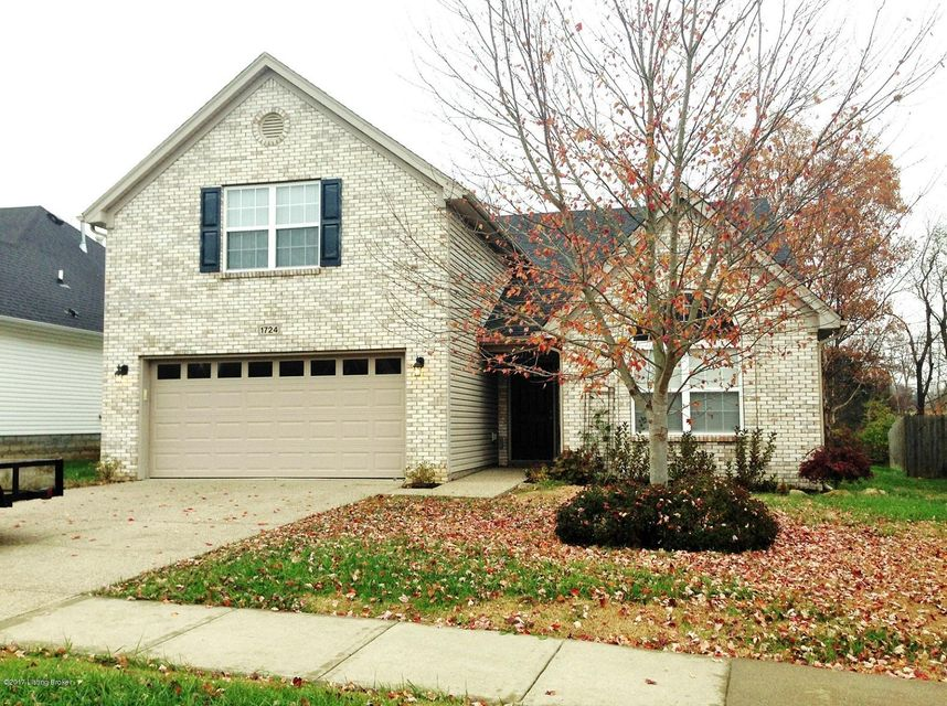Single Family Home for Sale at 1724 Belay Way 1724 Belay Way Louisville, Kentucky 40245 United States