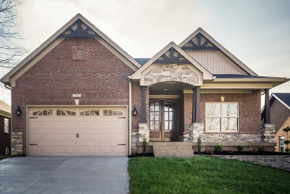 Single Family Home for Sale at 354 Deep Creek Drive 354 Deep Creek Drive Shepherdsville, Kentucky 40165 United States