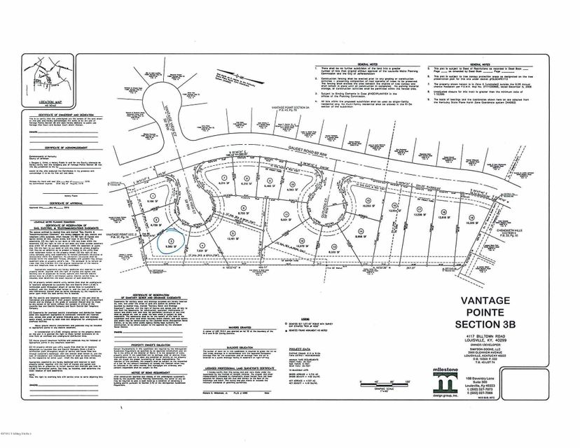 Land for Sale at Vantage Pointe Vantage Pointe Louisville, Kentucky 40299 United States