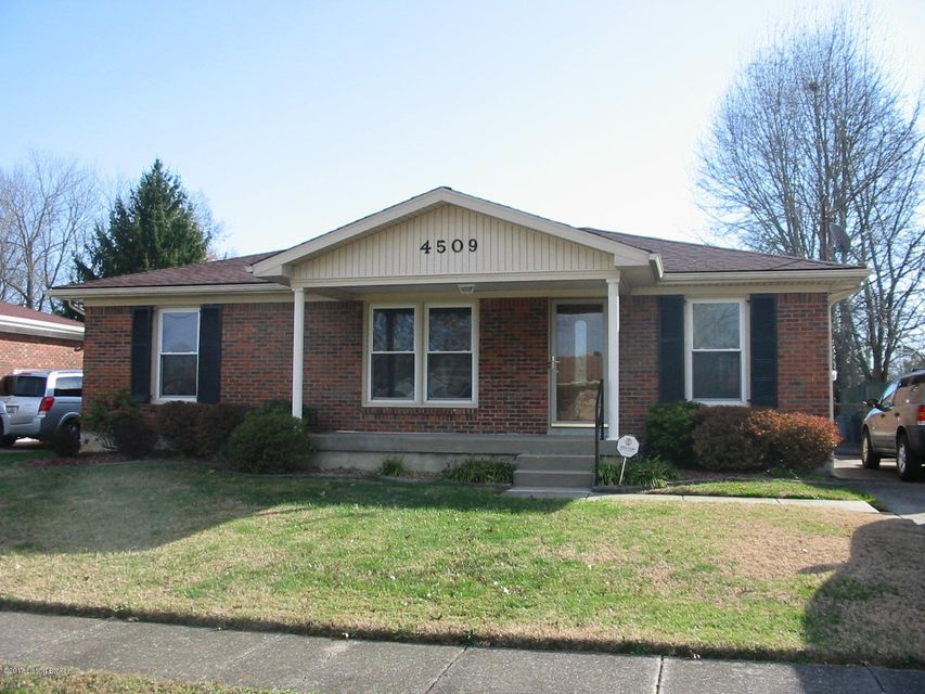 Single Family Home for Sale at 4509 Sunflower Avenue 4509 Sunflower Avenue Louisville, Kentucky 40216 United States
