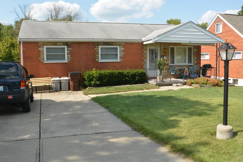 Single Family Home for Sale at 64 Burk Avenue 64 Burk Avenue Florence, Kentucky 41042 United States