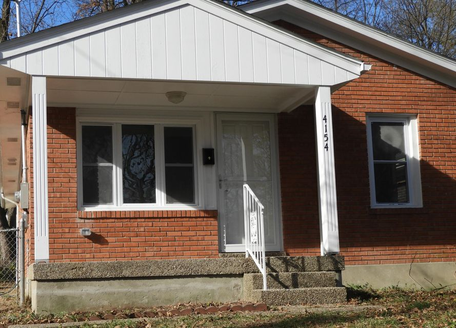 Single Family Home for Sale at 4154 Craig Avenue 4154 Craig Avenue Louisville, Kentucky 40215 United States