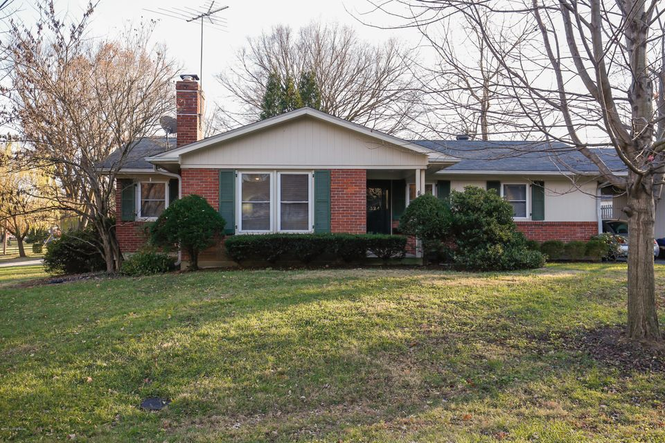 Single Family Home for Sale at 324 Primrose Drive 324 Primrose Drive Louisville, Kentucky 40207 United States