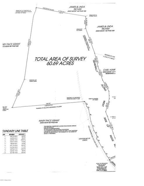 Land for Sale at 2586 Dutch Creek 2586 Dutch Creek Burkesville, Kentucky 42717 United States