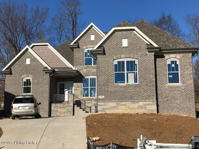 Single Family Home for Sale at Lot 10 Academy Estates Lot 10 Academy Estates Louisville, Kentucky 40245 United States