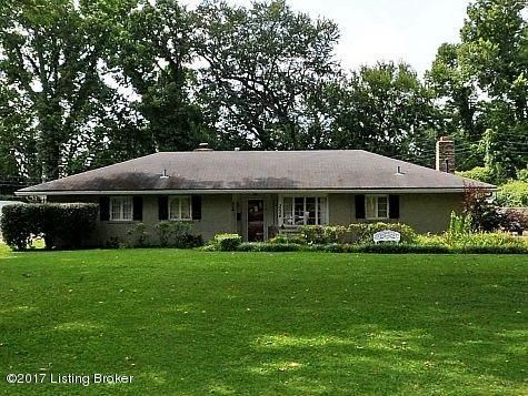 Single Family Home for Sale at 3004 Meadowview Circle 3004 Meadowview Circle Louisville, Kentucky 40220 United States