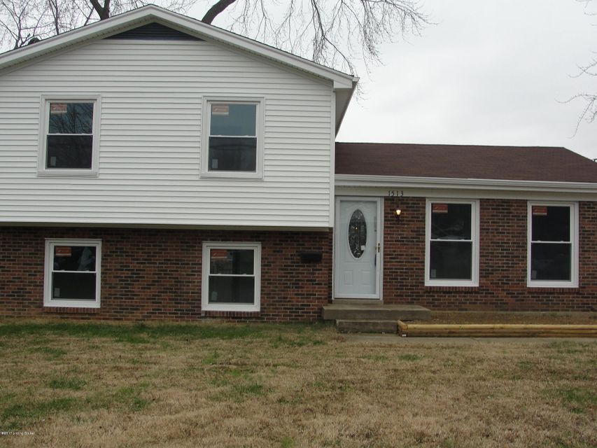 Single Family Home for Sale at 1513 Beacon Hill Drive 1513 Beacon Hill Drive Louisville, Kentucky 40216 United States
