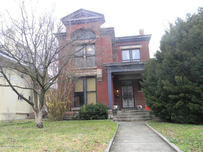 Single Family Home for Sale at 605 W Ormsby Avenue 605 W Ormsby Avenue Louisville, Kentucky 40203 United States