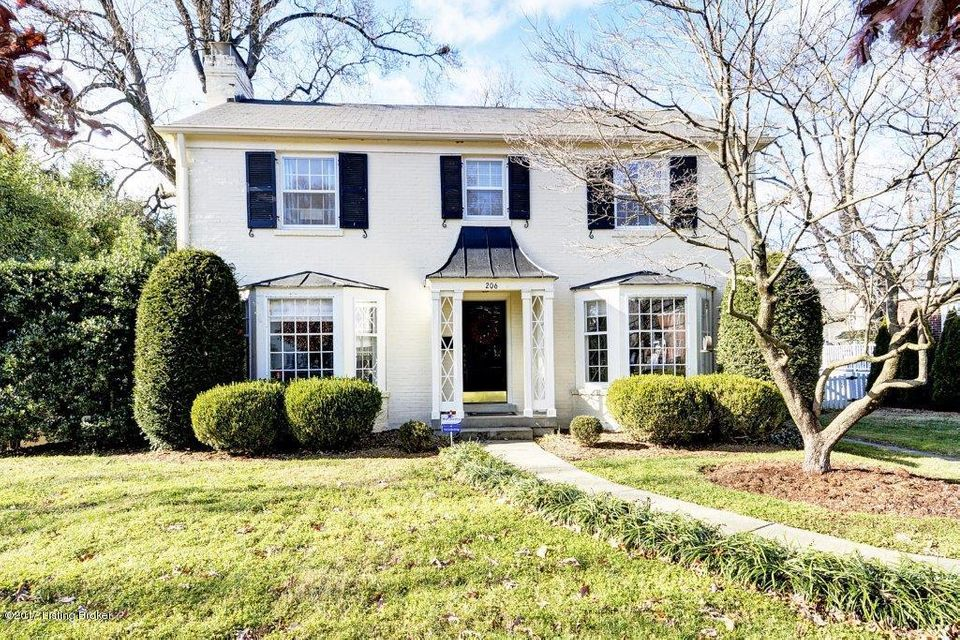 Single Family Home for Sale at 206 Gibson Road 206 Gibson Road Louisville, Kentucky 40207 United States