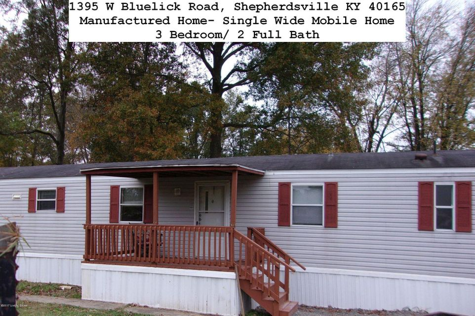 Single Family Home for Rent at 1395 W Bluelick Road 1395 W Bluelick Road Shepherdsville, Kentucky 40165 United States