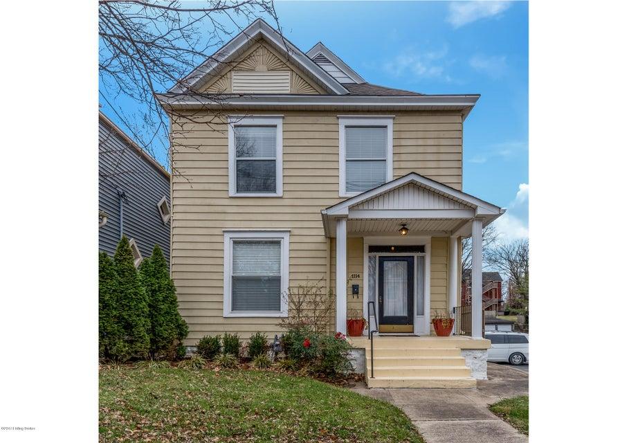 Single Family Home for Sale at 1114 Everett Avenue 1114 Everett Avenue Louisville, Kentucky 40204 United States