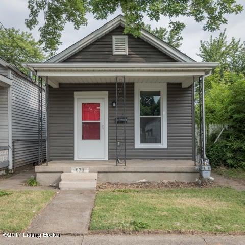 Single Family Home for Sale at 679 Lynn Street 679 Lynn Street Louisville, Kentucky 40217 United States