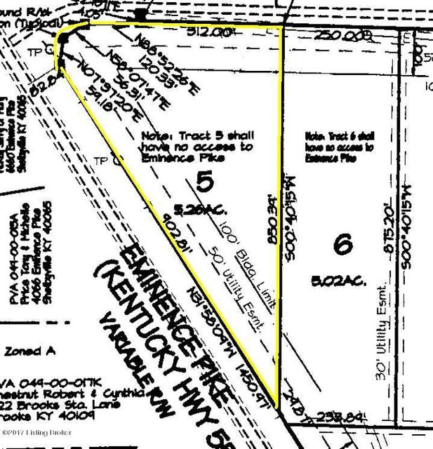 Land for Sale at Clear Creek Clear Creek Shelbyville, Kentucky 40065 United States