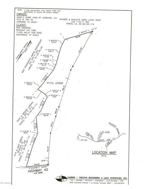 Farm / Ranch / Plantation for Sale at 1514B W Hwy 42 1514B W Hwy 42 La Grange, Kentucky 40031 United States