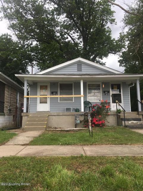 Multi-Family Home for Sale at 3146 Bohannon 3146 Bohannon Louisville, Kentucky 40215 United States