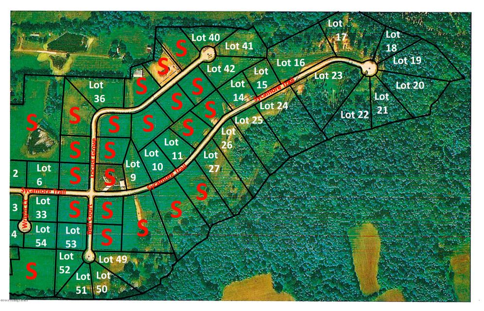 Land for Sale at 36 Locust Grove 36 Locust Grove Bedford, Kentucky 40006 United States