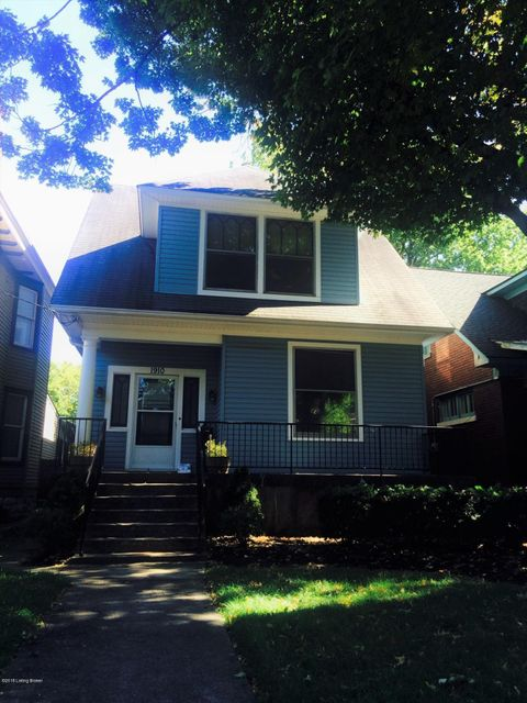 Single Family Home for Rent at 1910 Deer Park Avenue 1910 Deer Park Avenue Louisville, Kentucky 40205 United States
