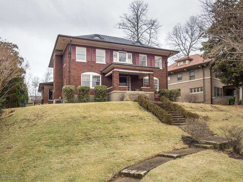 Single Family Home for Sale at 1626 Cherokee Road 1626 Cherokee Road Louisville, Kentucky 40205 United States
