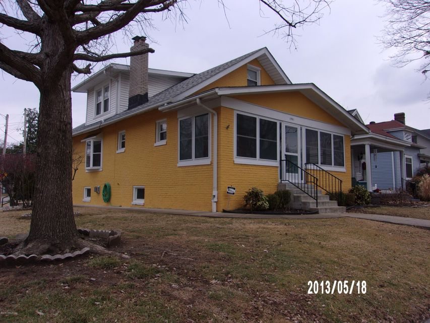 Single Family Home for Sale at 1901 Woodbourne Avenue 1901 Woodbourne Avenue Louisville, Kentucky 40205 United States