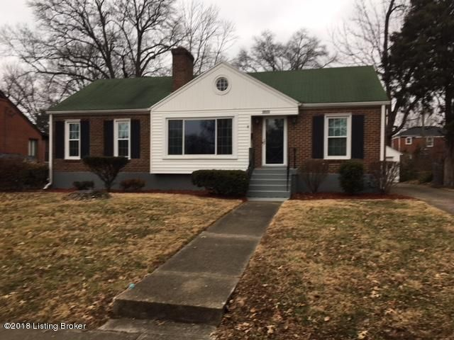 Single Family Home for Rent at 2523 Alanmede Road 2523 Alanmede Road Louisville, Kentucky 40205 United States