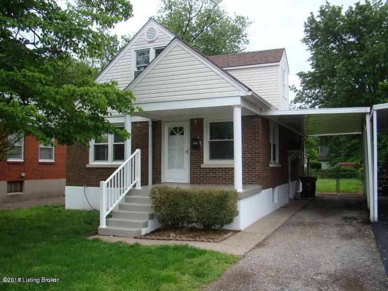 Single Family Home for Rent at 1008 English Avenue 1008 English Avenue Louisville, Kentucky 40217 United States