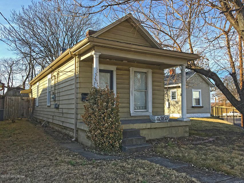 Single Family Home for Sale at 2006 Fort Street 2006 Fort Street Louisville, Kentucky 40217 United States