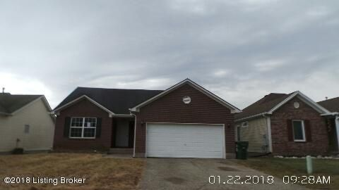 Single Family Home for Sale at 13011 Bessels Blvd 13011 Bessels Blvd Louisville, Kentucky 40272 United States