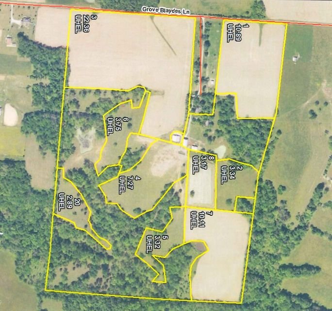 Land for Sale at 400 Grover Blaydes 400 Grover Blaydes Bagdad, Kentucky 40003 United States