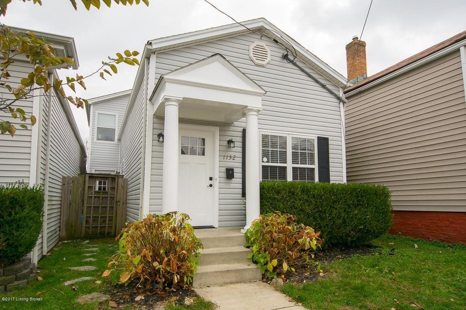 Single Family Home for Sale at 1132 Hull Street 1132 Hull Street Louisville, Kentucky 40204 United States