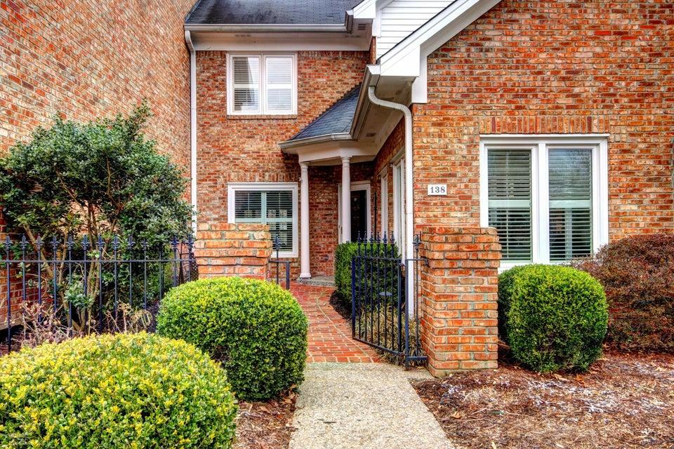 Condominium for Sale at 138 Promenade Court 138 Promenade Court Louisville, Kentucky 40223 United States