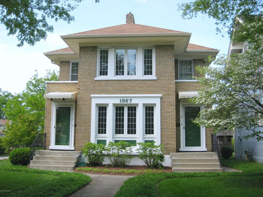 Single Family Home for Rent at 1867 Douglass Blvd 1867 Douglass Blvd Louisville, Kentucky 40205 United States