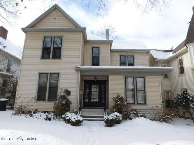 Single Family Home for Sale at 510 Shelby Street 510 Shelby Street Frankfort, Kentucky 40601 United States
