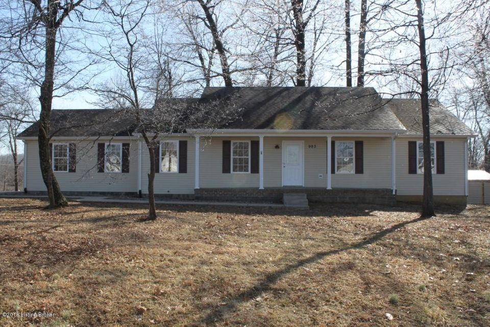 Single Family Home for Sale at 993 Thompson Road 993 Thompson Road Rineyville, Kentucky 40162 United States