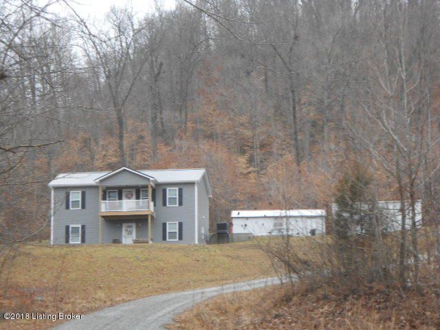 Single Family Home for Sale at 712 Homestead Valley Road 712 Homestead Valley Road New Hope, Kentucky 40052 United States
