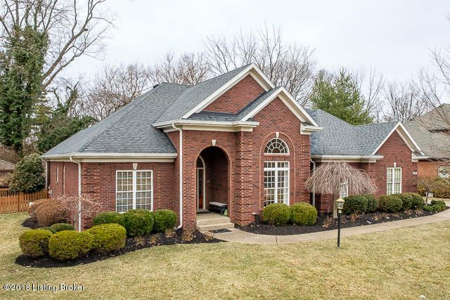 Single Family Home for Sale at 1602 Two Springs Place 1602 Two Springs Place Louisville, Kentucky 40207 United States