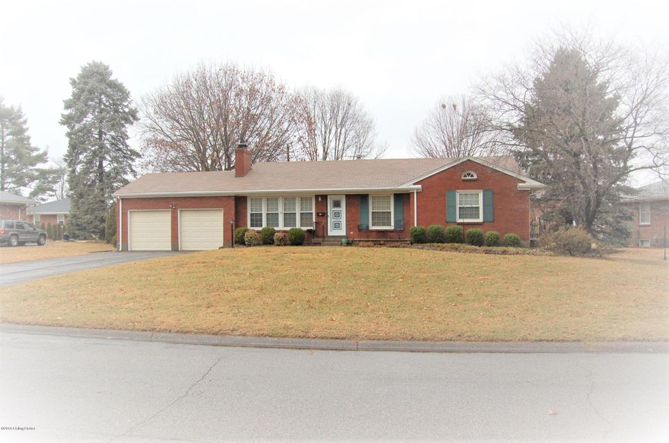 Single Family Home for Sale at 1705 Girard Drive 1705 Girard Drive Louisville, Kentucky 40222 United States