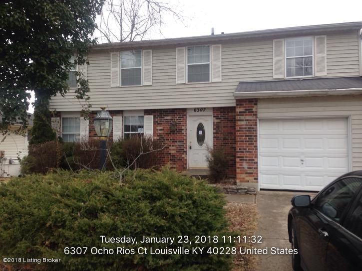 Single Family Home for Sale at 6307 Ocho Rios Court 6307 Ocho Rios Court Louisville, Kentucky 40228 United States