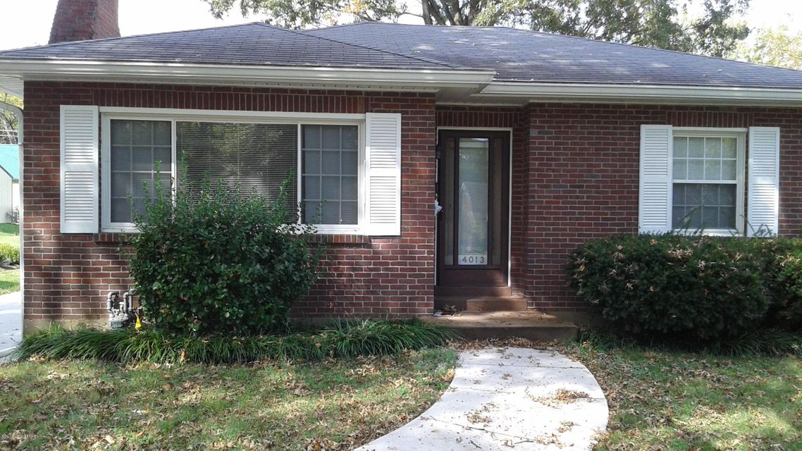 Single Family Home for Rent at 4013 Plymouth Road 4013 Plymouth Road Louisville, Kentucky 40207 United States