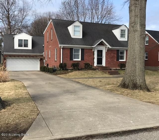 Single Family Home for Sale at 3611 Norbourne Blvd 3611 Norbourne Blvd Louisville, Kentucky 40207 United States