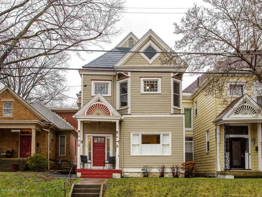 Single Family Home for Sale at 117 Vernon Avenue 117 Vernon Avenue Louisville, Kentucky 40206 United States