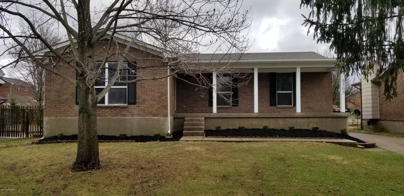 Single Family Home for Sale at 4305 Seagrape Road 4305 Seagrape Road Jeffersontown, Kentucky 40299 United States