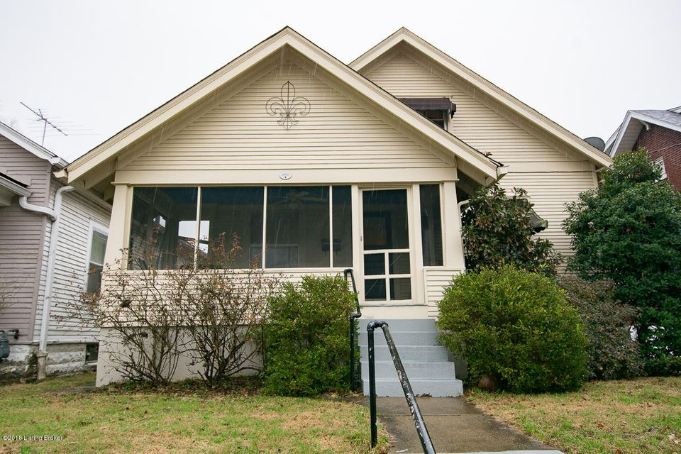 Single Family Home for Sale at 1840 Bonnycastle Avenue 1840 Bonnycastle Avenue Louisville, Kentucky 40205 United States