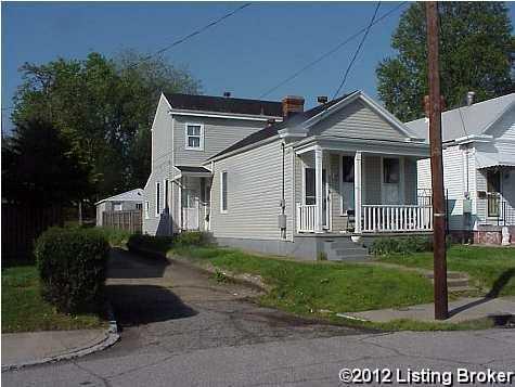 Single Family Home for Rent at 1136 Samuel Street 1136 Samuel Street Louisville, Kentucky 40204 United States