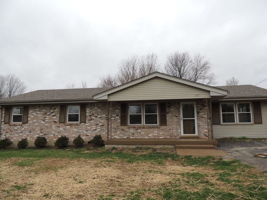 Single Family Home for Sale at 117 Shelby Street 117 Shelby Street Eminence, Kentucky 40019 United States