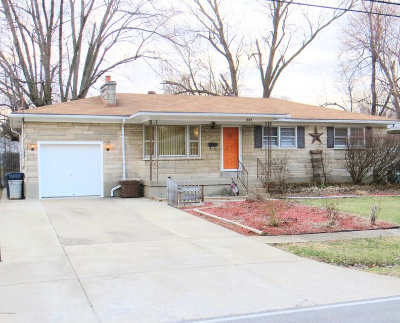 Single Family Home for Sale at 2145 East Lane 2145 East Lane Louisville, Kentucky 40216 United States
