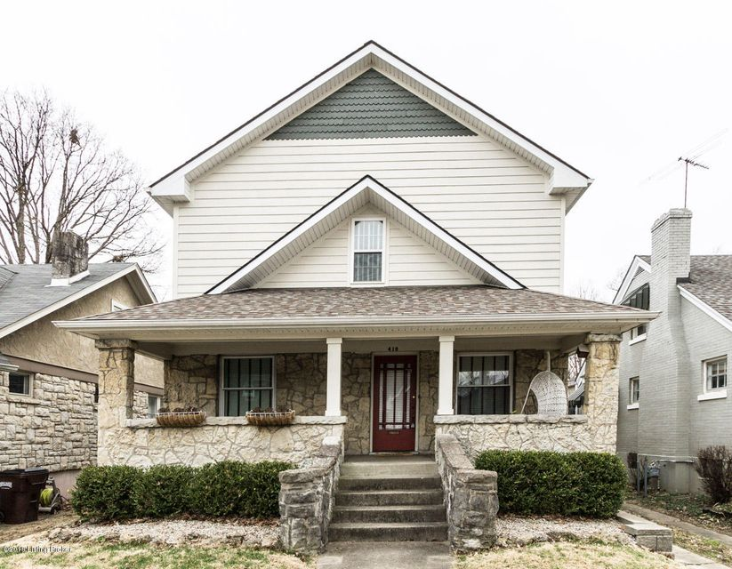 Single Family Home for Sale at 418 Wallace Avenue 418 Wallace Avenue Louisville, Kentucky 40207 United States