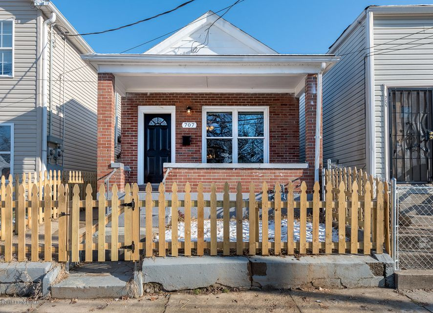 Single Family Home for Sale at 707 Camp Street 707 Camp Street Louisville, Kentucky 40203 United States