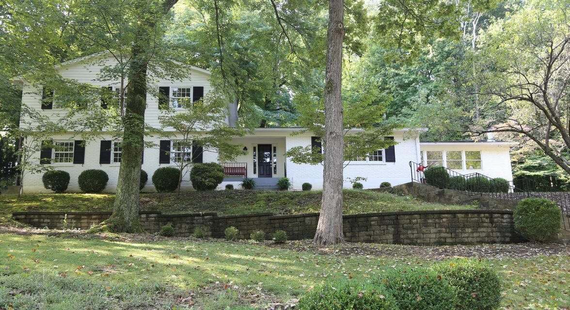 Single Family Home for Sale at 60 Indian Hills Trail 60 Indian Hills Trail Louisville, Kentucky 40207 United States