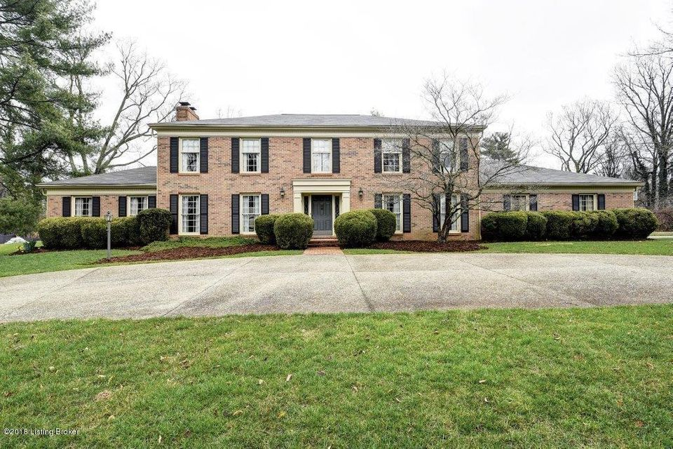 Single Family Home for Sale at 3707 Glen Bluff Road 3707 Glen Bluff Road Louisville, Kentucky 40222 United States