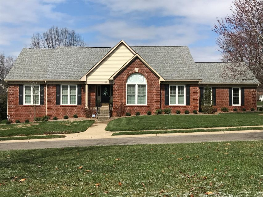 Single Family Home for Sale at 3603 Winterleaf Drive 3603 Winterleaf Drive Louisville, Kentucky 40207 United States